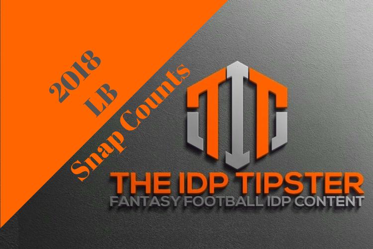 NFL LB Snap Count