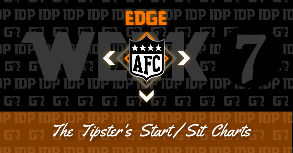 Fantasy Football's AFC Edge Rusher Championship WK16 Start/Sit Chart